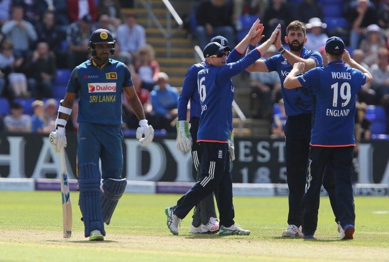 Sri Lanka v England cricket 5th ODI