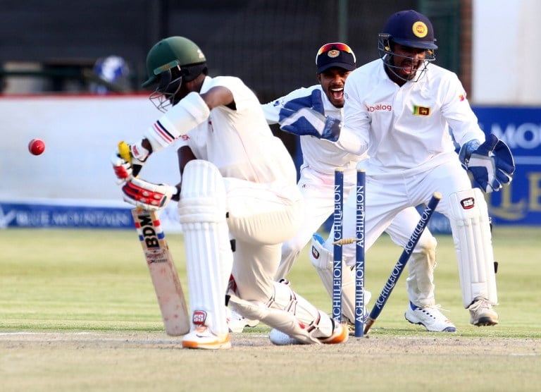 Great win for Sri Lanka against fighting Zimbabwe