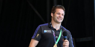 New Zealand's All Blacks rugby team captain Richie McCaw ©AFP