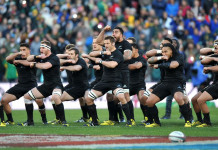 New Zealand's All Blacks perform the Haka during the test match New Zeland and South Africa ©AFP