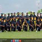 D. S. Senanayake Cricket Team 2016