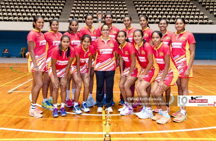 12-member Sri Lanka Squad 2019 Netball World Cup