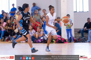 Tap the ball if can! Hazeena Abdul building offensive possession