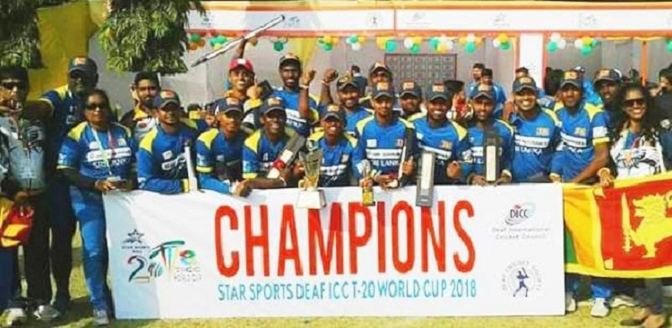 Sri Lanka Win Inaugural Deaf Icc T20 World Cup 2018
