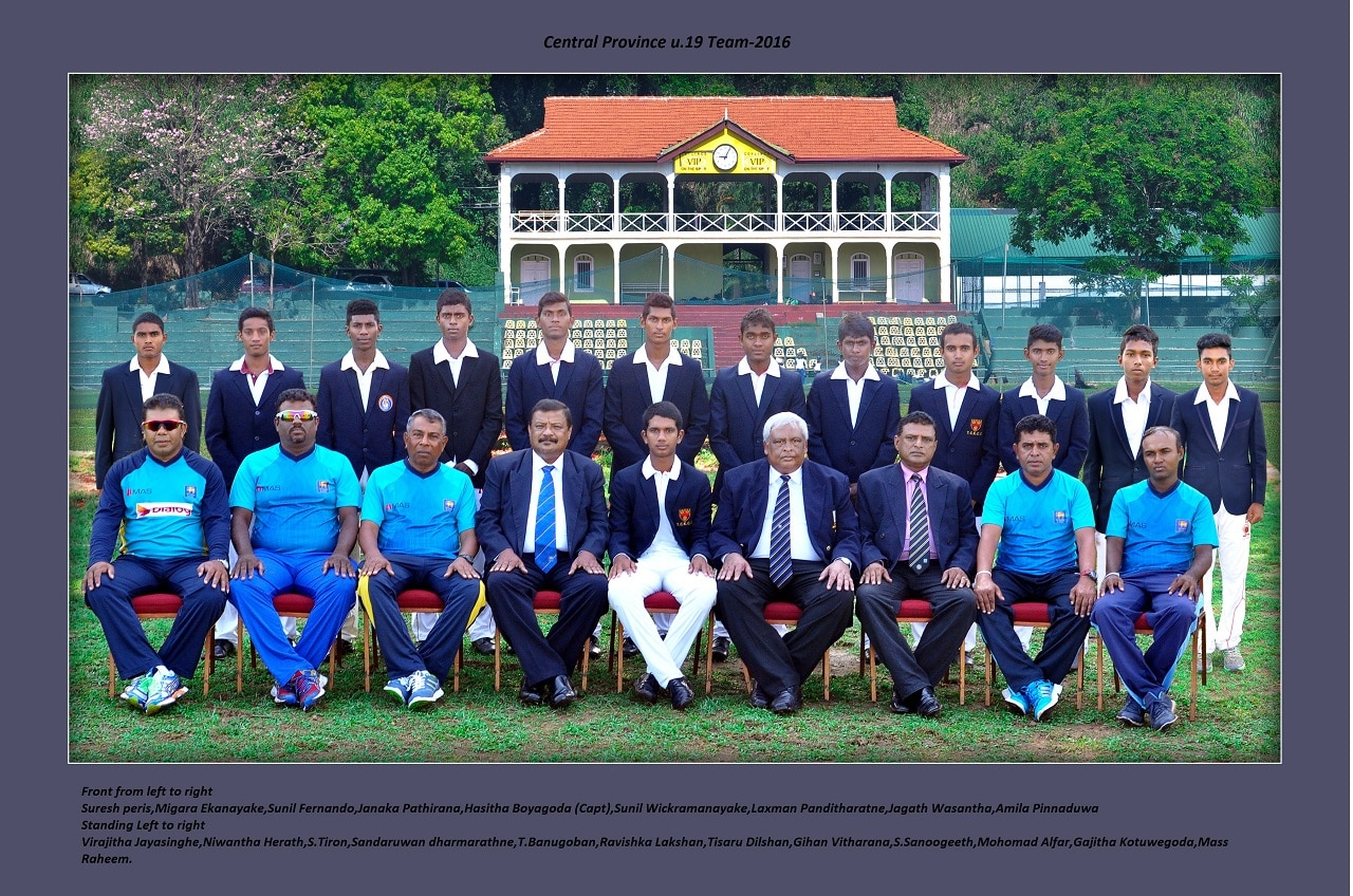 Central Province squad