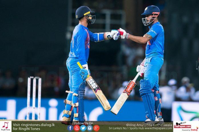 Nidahas Trophy Match 4 - India VS Sri Lanka