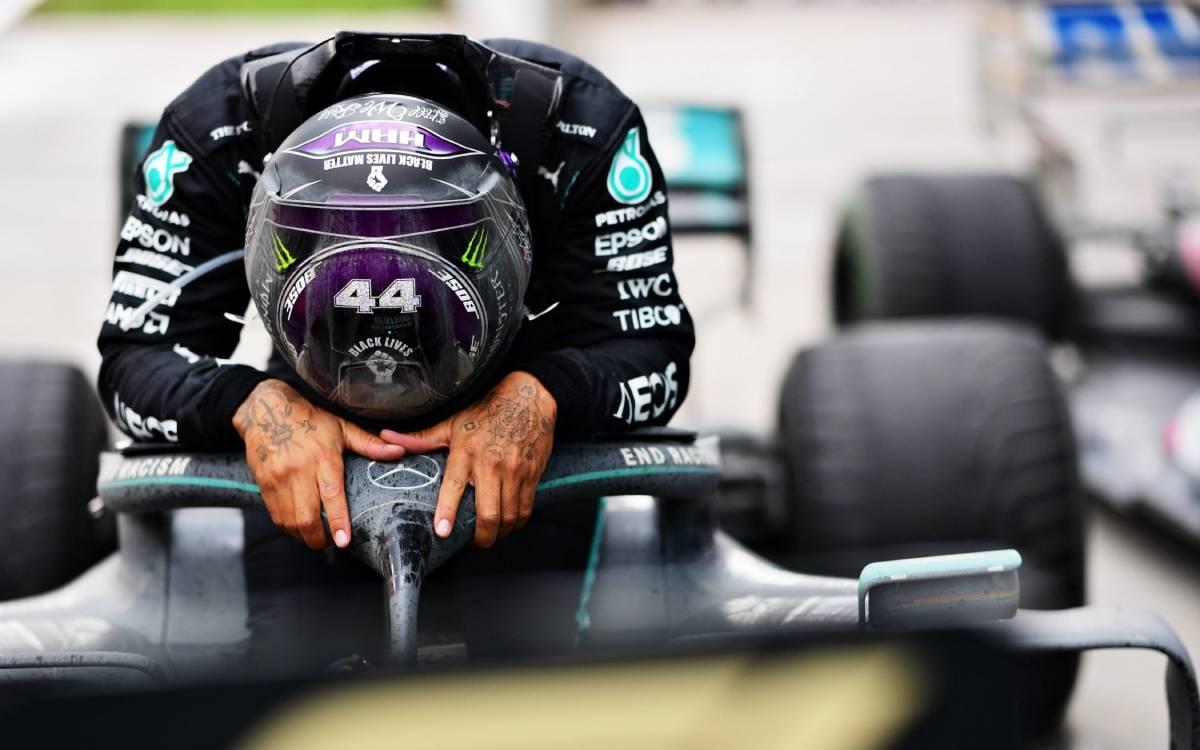 Sir Lewis Hamilton in 7th Heaven