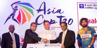 Dialog Sponsoring Sri Lanka team
