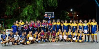 APIIT v SAITM Basketball Encounter 2017