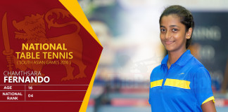 Table Tennis National Team (Men/Women) – South Asian Games 2016
