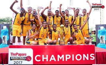 Photos : ThePapare Basketball Championship 2017 | Boys` Final