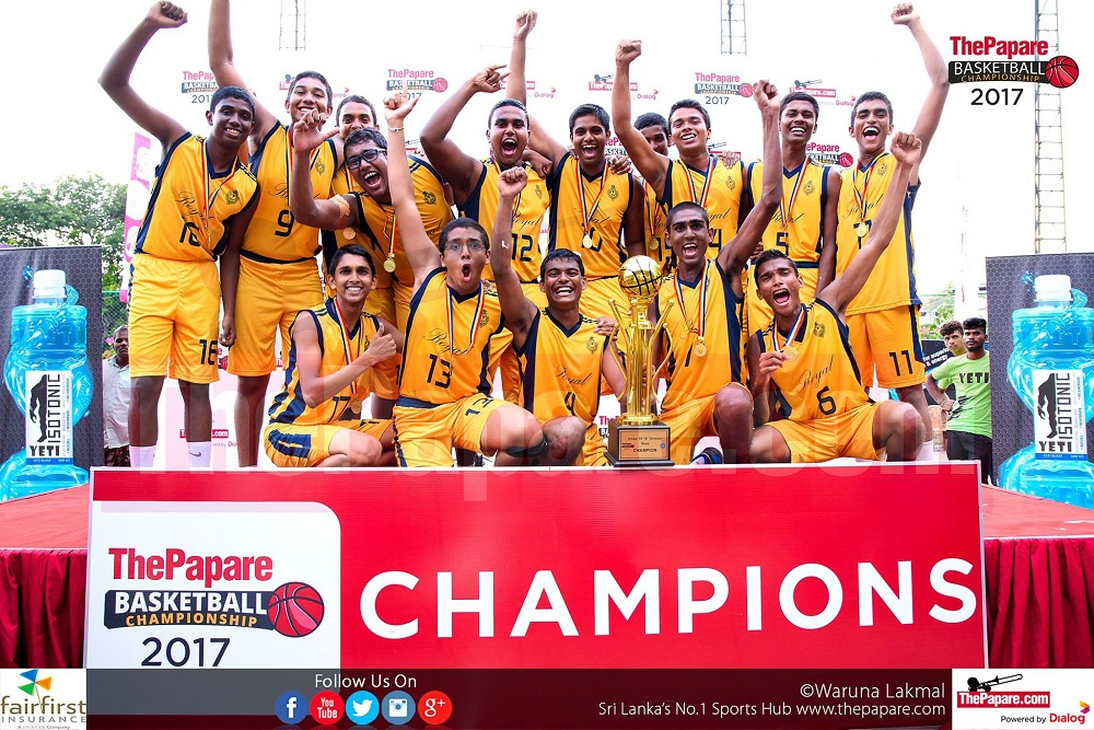 Photos : ThePapare Basketball Championship 2017 | Boys` Final