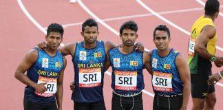 Sri lanka men 4*100
