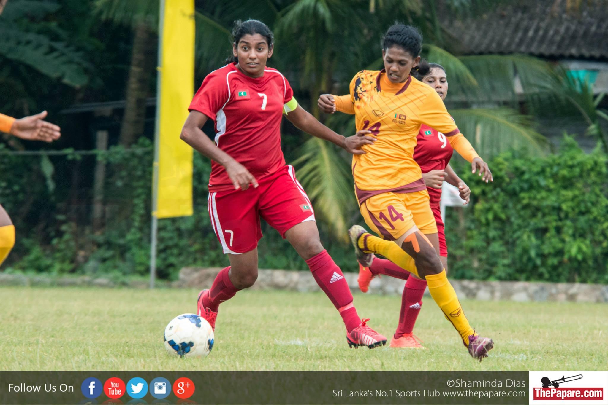 Maldives crush Sri Lanka