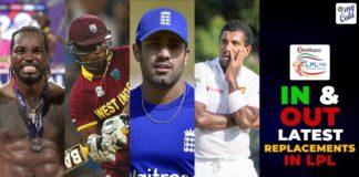Finalised Squads - LPL 2020