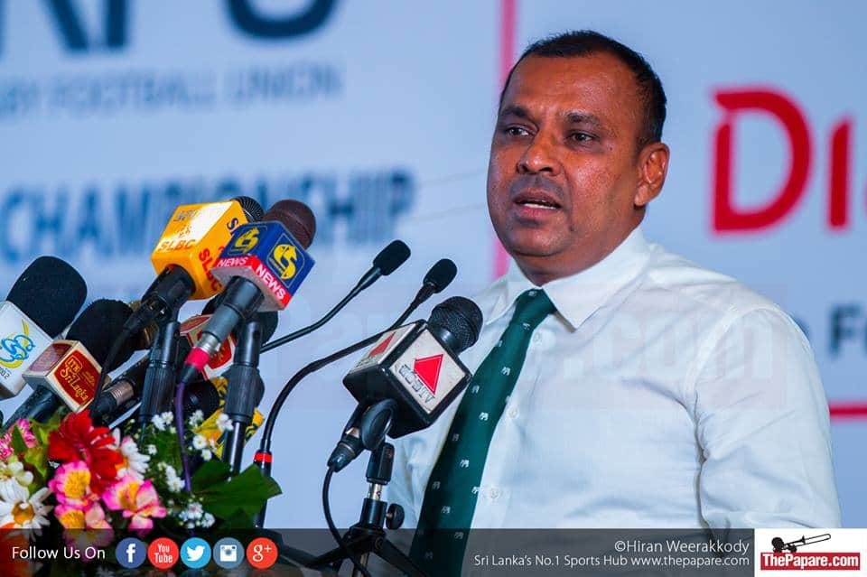 Asanga Seneviratne re-appointed SLRFU president uncontested