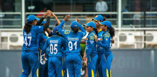 SL women's WT20 warmup