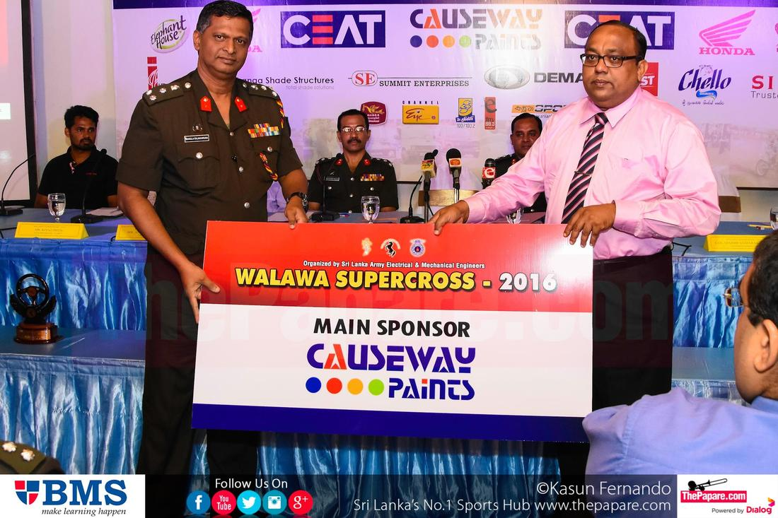 Walawa Super Cross 2016 Press Conference