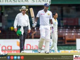 Angelo Mathews doubtful for first Pakistan Test