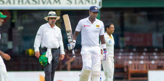 Angelo Mathews doubtful for first Pakistan Test