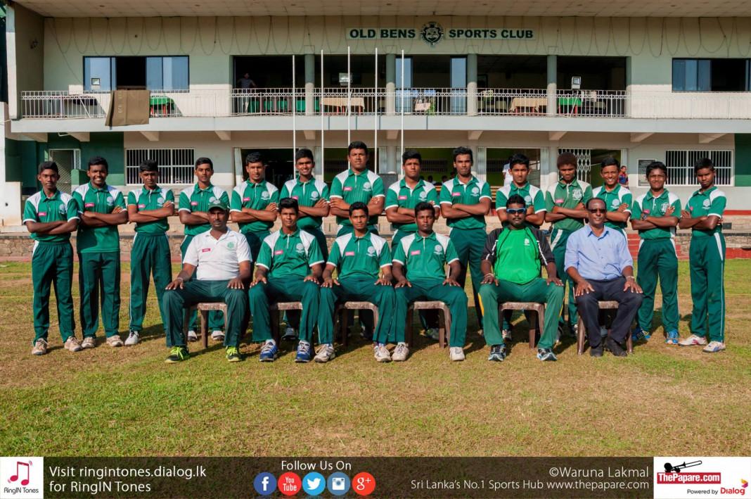 St.Benedict's College cricket team