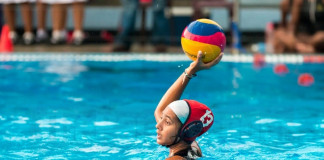 Ladies-Visakha Water polo battle on 28th