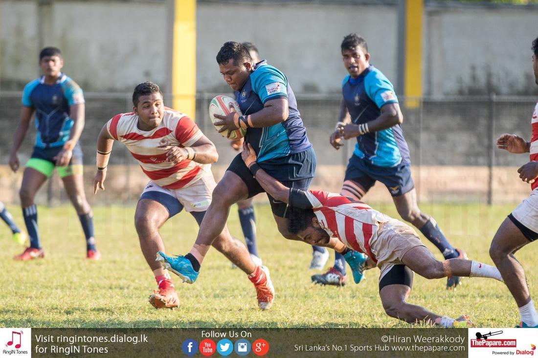 CH & FC v Air force SC (Dialog Rugby League 2015/16)