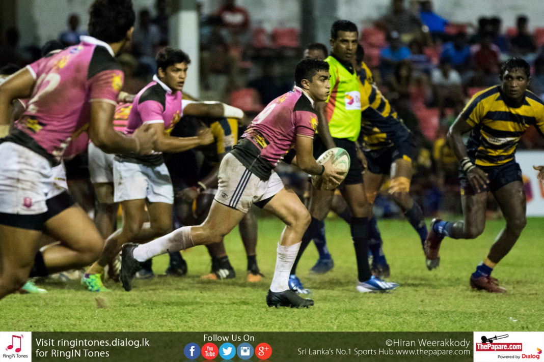 Havelock SC v Army SC (Dialog Rugby League 2015/16)