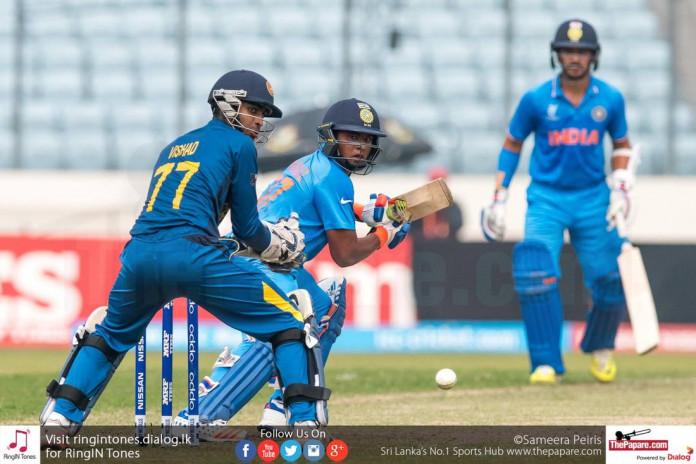 SL U19 vs IND U19 Semi Final Match