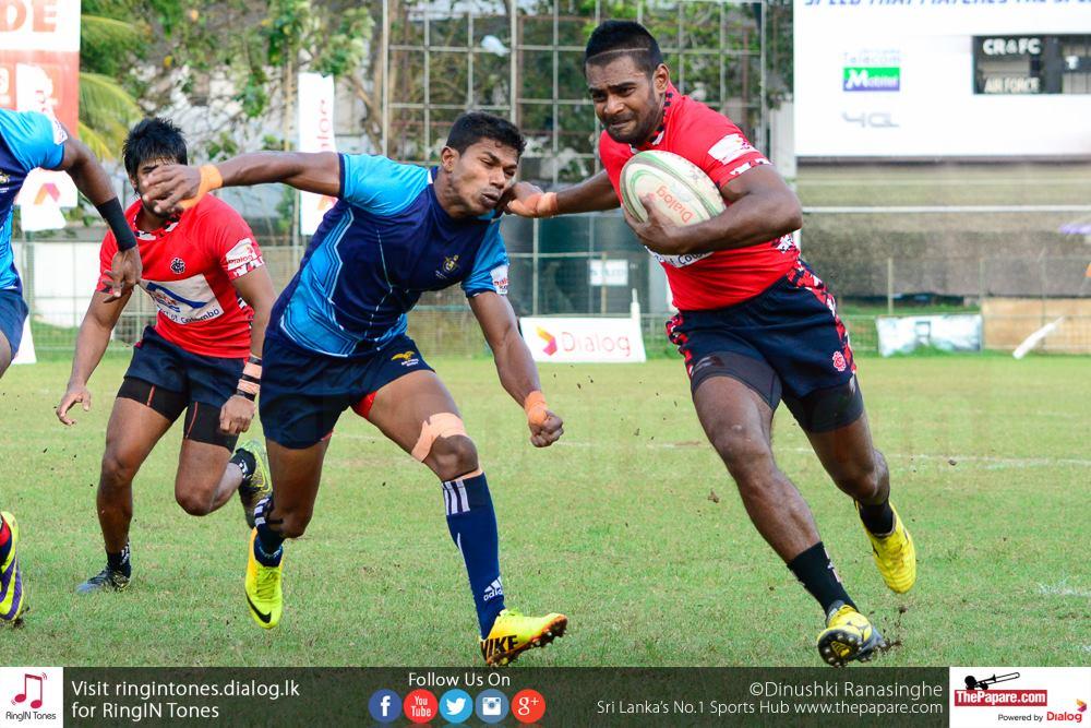 CR&FC v Air Force SC (Dialog Rugby League 2015/16)