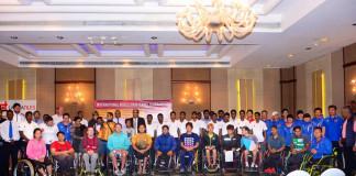 Wheel Chair Tennis tournament