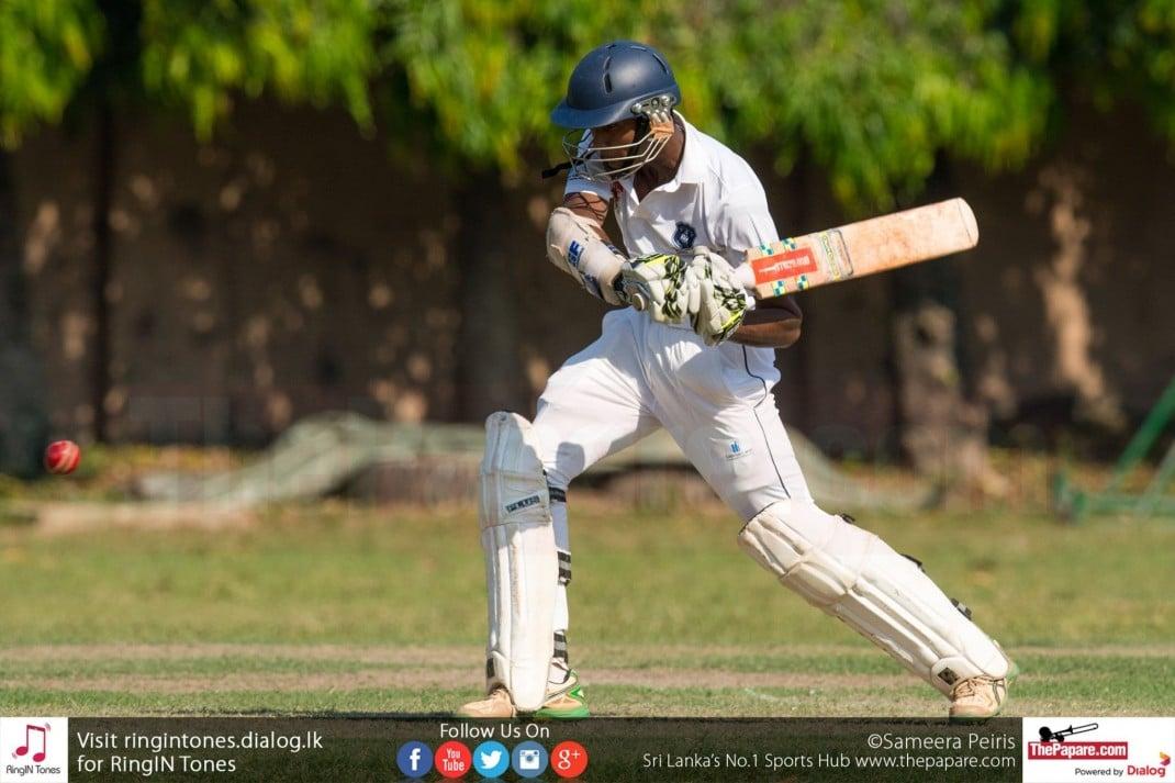 Singer U19 Schools Cricket St. Joseph's College vs St. Joseph's vaaz College report