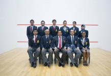 Sri Lanka Squash team