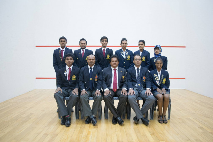 Sri Lanka Squash team