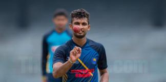 Sri Lanka v Leics 2nd worm up match day 1