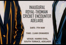 Inaugural Royal-Thomian Cricket encounter