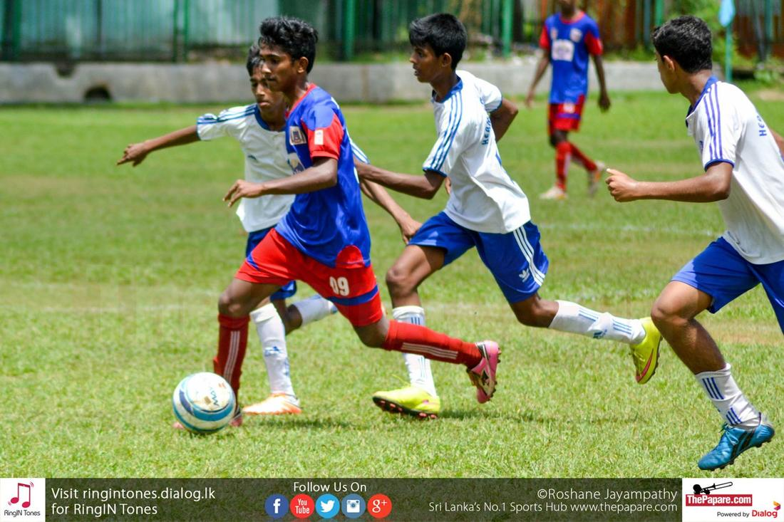Maris Stella College vs Hermann Gmeiner – Schools Football 2016