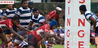 St. Joseph's College vs Science College (Schools Rugby 2015)