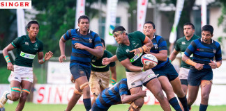 Isipathana College Vs. S.Thomas' College (Schools Rugby 2015)