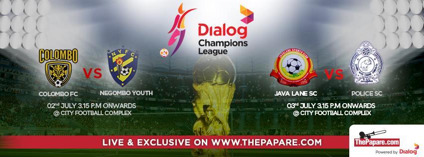 Colombo Football Club v Negombo Youth FC Java Lane SC v Sri Lanka Police