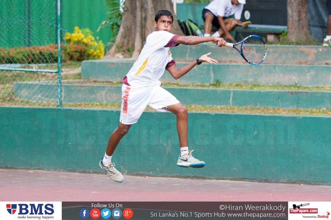 Under 17 Tennis: Ananda pounce on St. Peter's, Ladies ...