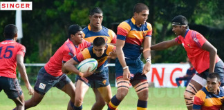 Trinity College vs Kingswood College (Schools Rugby 2015)