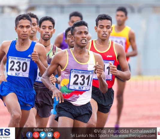 Nationla Athletics tournament will be held at Diyagama
