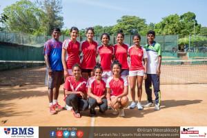 Ladies College Under 19 team