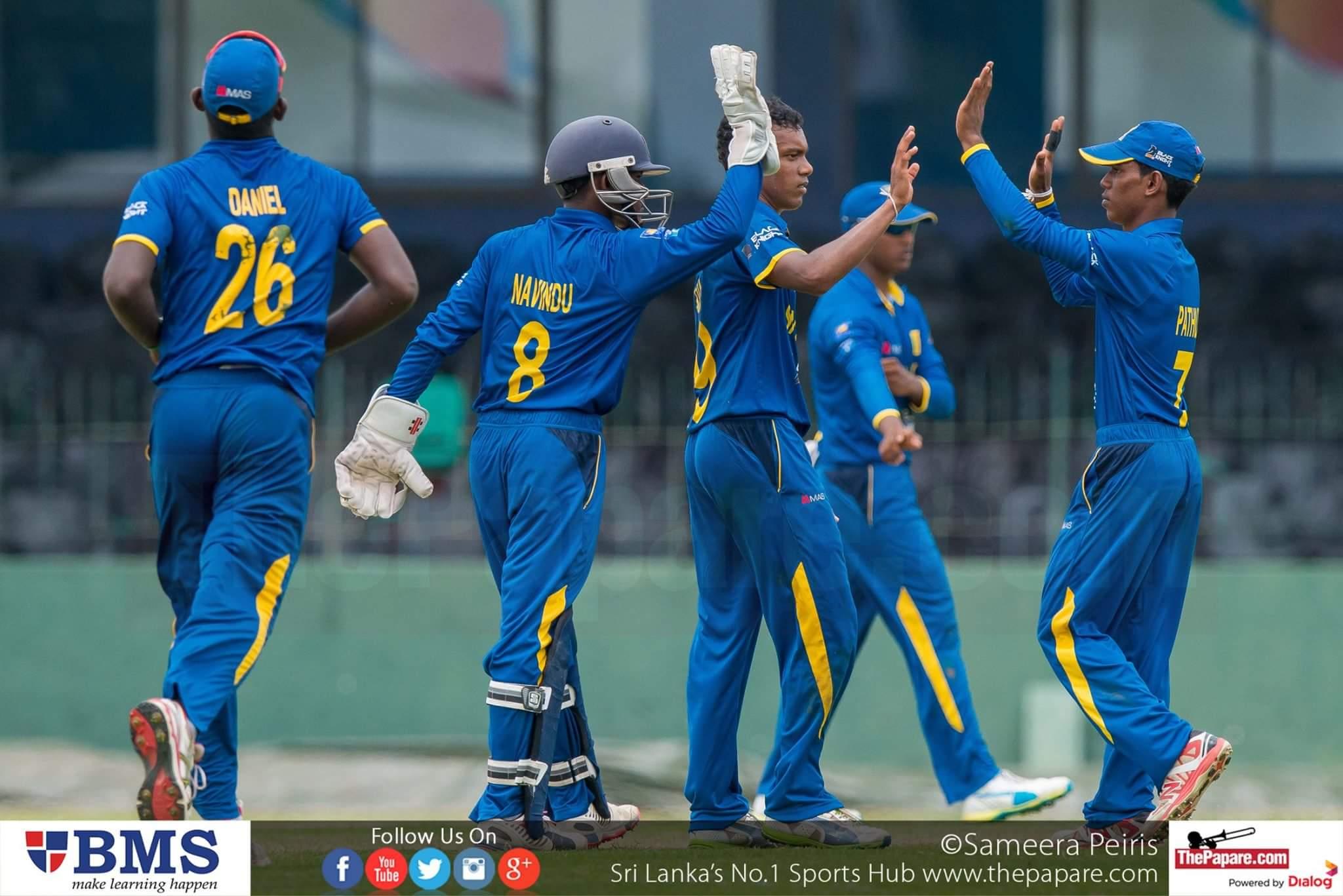 Sri Lanka U19 v South Africa U19 2nd ODI report