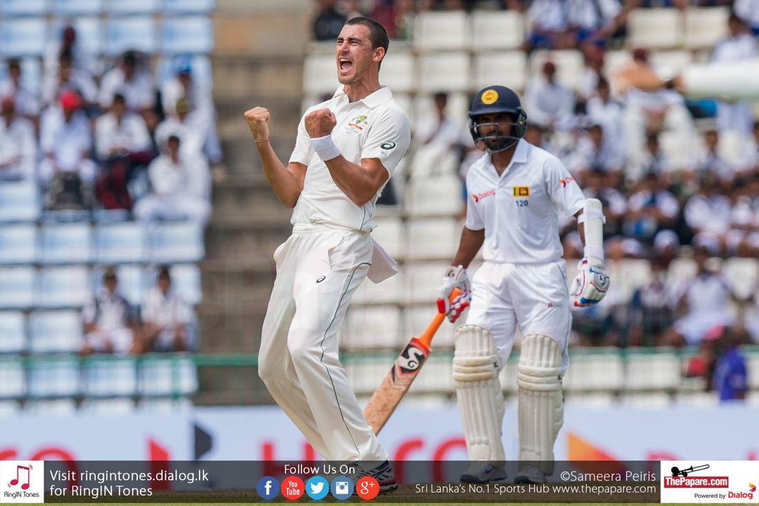 Sri Lanka vs Australia - 1st test match day 1