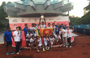 Sri Lanka U18's finish third in Hong Kong