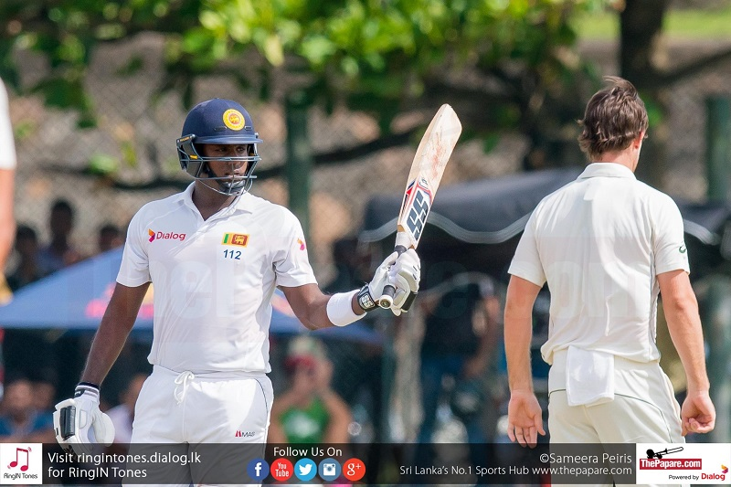 Angelo Mathews ruled out of Bangladesh Tests