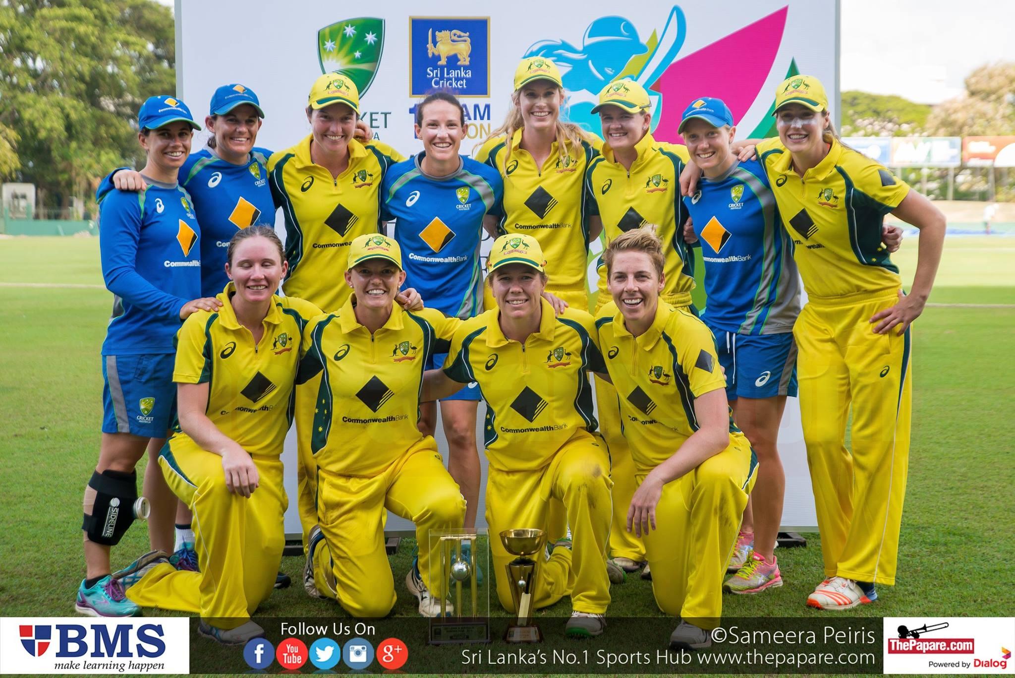 Sri Lanka Women V Australia Women - T20