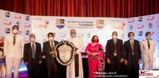 142nd Royal-Thomian 'Battle of the Blues
